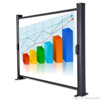 Buy cheap 40 Mobile Portable Projection Screens Desktop Portable Projector Screen from wholesalers