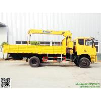 Buy cheap dongfeng Truck Mounted Crane XCMG cranes 6T.m boom 4x4 off road  truck mounted crane Whatsp:8615271357675 from wholesalers
