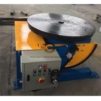 Buy cheap Manually Tube Welding Positioner Auto Stop 900mm Round Slot Table from wholesalers