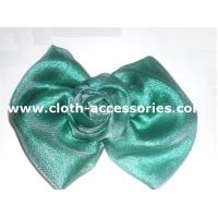 Buy cheap Ribbon Large Flower Corsage For Men / Prom Fabric Flower Brooch Polyester Voil from wholesalers