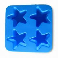Buy cheap Cake Mold in Star Shape, Stylish, Elegant and Recycled, FDA- and LFGB-certified product