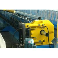 Buy cheap Electric Decoiler Steel Downspout Roll Forming Machine 0.3-0.8 mm Coil Sheet Thickness from wholesalers