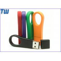 Buy cheap Key Ring Portable Pen Drives 8GB Data Storage Memory Pantone Matched from wholesalers