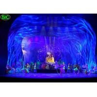 Buy cheap Soft Transparent Flexible LED Curtain Display , curtain led screen MBI IC from wholesalers