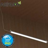 Buy cheap 28W 40W 52W Waterproof Fluorescent Light Fixtures IP65 LED Light Fixture Linear Suspension Lighting Warm White 3000K from wholesalers
