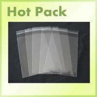 Buy cheap crystal clear plastic bags polypropylene cello resealable bags poly bag from wholesalers