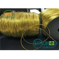 Buy cheap Custom Gold and Silver Garments Accessories Round Elastic Cord Thread String for Hanging from wholesalers
