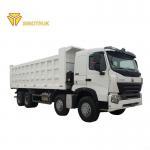 Buy cheap HW76 Cabin 300L Fuel Tank Heavy Duty Dump Truck 8x4 howo Driving Type from wholesalers