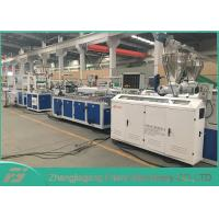 Buy cheap 300-700mm Pvc Ceiling Panel Making Machine , PVC / PE / PP Wpc Production Line from wholesalers