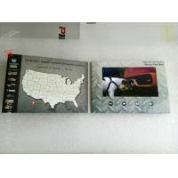 Buy cheap Personalized Video Greeting Cards Landscape A5 Video Brochure 5 Inch Video Folder from wholesalers