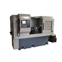 Buy cheap High Efficiency CNC Metal Spinning Lathe With Threading / Trimming / Flanging / Rolling from wholesalers