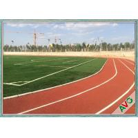 Buy cheap Unique Fibrillated Structure Soccer Artificial Grass 12000 Dtex Fullness Surface from wholesalers