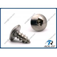 Buy cheap Passivated Stainless Steel 410 Square Drive Truss Head Sheet Metal Screws from wholesalers