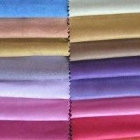 Buy cheap Brushed Suede Fabric for Sofa, with Embossed and PU Coating Surface Finish from wholesalers