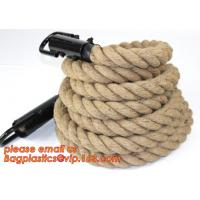 Buy cheap Gym Climbing Rope, Climbing Rope With Hook, Sisal Climbing Ropes, Climbing Rope With Hook from wholesalers