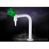 Buy cheap NBR Sealing 360° Swing Lab Water Faucet , High Gloss White Common Laboratory Apparatus from wholesalers