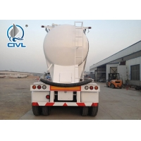 Buy cheap Q345 Material 3 Axles 48cbm Bulk Cement Tank Semi Trailer Trucks With ISO / 3C / BV / IFA / SGS from wholesalers