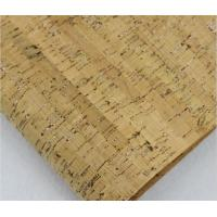 Buy cheap Hot Sale Shiny Silver Fleck Nature Cork Fabric by Yard for Handbag Making from wholesalers