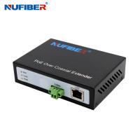 Buy cheap 10/100M 1 Twisted Pair port 1 RJ45 port POC POE Ethernet over 2-wire Converter 300M from wholesalers