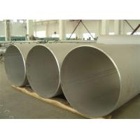 Buy cheap Polished Finish Stainless Steel Welded Pipe DIN EN 321 , 100mm OD from wholesalers