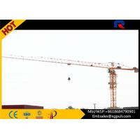 Buy cheap 1.3t Tip Load Building Construction Machine , Flat Top Tower 40m Free Standing Height from wholesalers