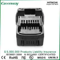 Buy cheap Replacement battery for cordless tool  Hitachi BSL1830, DS18DSAL, BSL1815X,330139, 330557, BSL 1815X from wholesalers