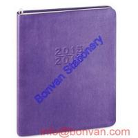 Buy cheap Round Corner Journal Sewing Thread Leather Cover Wholesale High-quality notebook from wholesalers