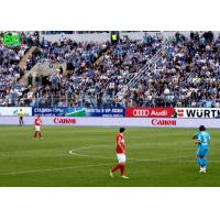 Buy cheap High resolution bright thin  full color P10 Football stadium LED display from wholesalers