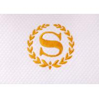 Buy cheap White Color Soft Hotel Bath Towel 100% Cotton With Embroidery Logo from wholesalers
