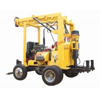 Buy cheap XYX-3 trailer mounted hydraulic tower 600m core drilling water well drill machine from wholesalers