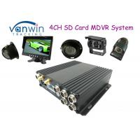 Buy cheap Black Box HD 4CH SD Card Mobile DVR Support 256GB, Dual SD Card Slots from wholesalers