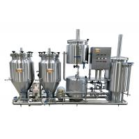 Buy cheap Steam Heated Home Microbrewery Equipment from wholesalers