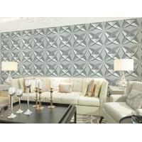Buy cheap Interior 3D Wall Coverings Eco Friendly Wallpaper , Decorative 3D Shower Wall from wholesalers