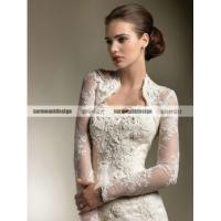 Buy cheap CH1926 Beautiful sweetheart mermaid Floor Length Wedding Dress with long sleeve jacket from wholesalers