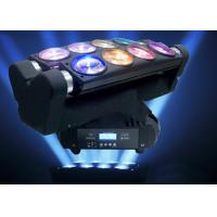 Buy cheap Disco Party DJ Lighting Moving Head Spider Lights Cree LED 8x10W RGBW Multi Color from wholesalers