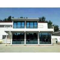 Buy cheap 2 Storey Container House Prefab Office Modular Prefabricated Container Home Building from wholesalers