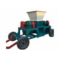 Buy cheap Mobile Scrap Metal Shredder / Waste Tyre Shredder Machine Silent Design from wholesalers
