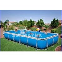 Buy cheap Custom Outdoor Durable Portable Swimming Pools For Kids On Ground from wholesalers