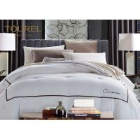 Buy cheap Customized Hotel Quality Bed Linen King Size 330TC 100% Cotton Plain Satin Stripe from wholesalers