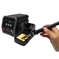Buy cheap Digital Soldering Station For Electronics / PCB with High Frequency Current Heating from wholesalers