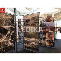 Buy cheap Coal Black Photography Exhibition Aluminum Square Truss For Indoor Events from wholesalers