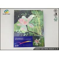 Buy cheap Traditional Paper Thank You Greeting Cards Inline Cold Foil Stamping from wholesalers