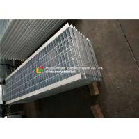 Buy cheap Angle Bar Welded Steel Grating , Reinforced Concrete Areas Heavy Duty Bar Grating from wholesalers