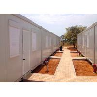 Buy cheap Shutter Windows Storage Container Houses , Freight Storage Containers With Living Facilities from wholesalers