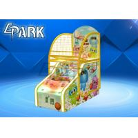 Buy cheap Cute Bear Design Arcade Basketball Game Machine For Game Center 1 To 2 Player from wholesalers