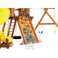 Buy cheap Anti-UV Kids Outdoor Playsets , Plastic Holds for Climbing Wall with Metal Fastener Accessories from wholesalers
