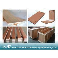 Buy cheap Dia 5mm - 100mm Titanium Clad Copper Round / Flat / Square For Plating from wholesalers