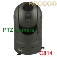 Buy cheap IP66 Waterproof Car PTZ Camera Support Night Vision / Zoom Infrared , Metal Marerial product