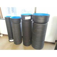 Buy cheap High-Quality HDPE Double-wall Corrugated pipe machinery with belling modules from wholesalers