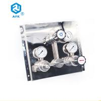 Buy cheap Stainless Steel Automatic Switchover Manifold , High Pressure Gas Control Panel from wholesalers